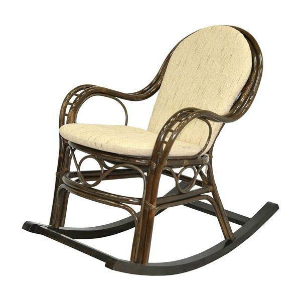 Кресло-качалка Марис из натурального ротанга