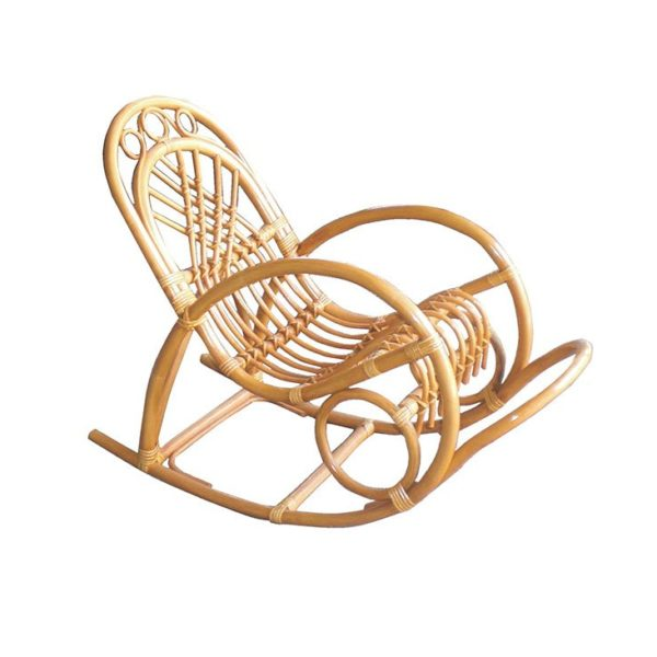Кресло-качалка Ханна из натурального ротанга