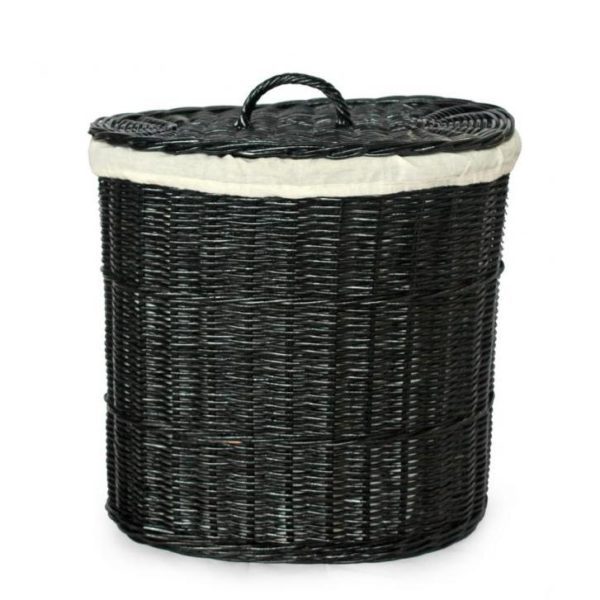 Корзина №3 плетеная из натурального ротанга
