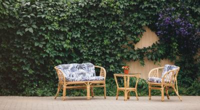 Преимущества плетеной мебели