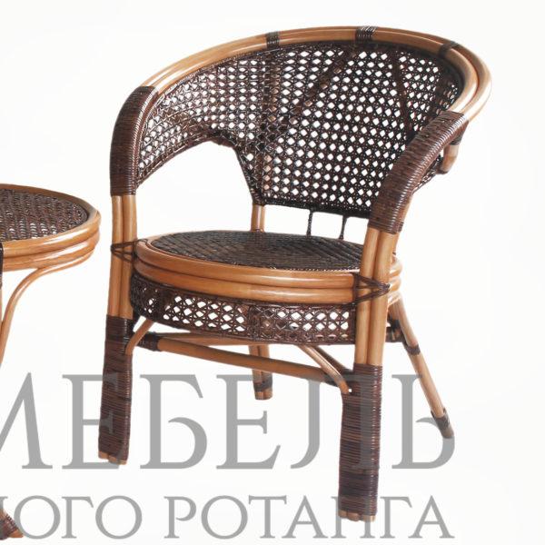 Кресло Пеланги из натурального ротанга (two tone)