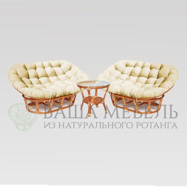Набор : 2 дивана Мамасан MAX и стол Багама