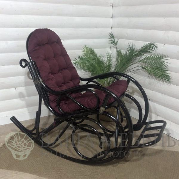 Кресло-качалка Сари разборное из натурального ротанга