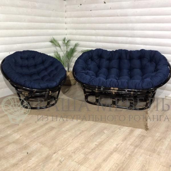 Набор : диван Мамасан и кресло Папасан